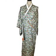 Diamond flower kimono