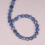 Kyanite 10 mm flat circles