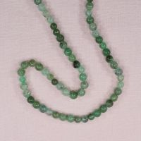 6 mm round chrysoprase beads