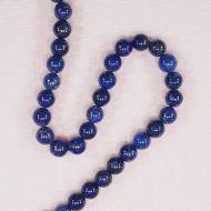 8 mm round lapis beads