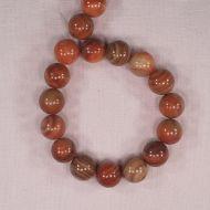 14 mm round sardonyx beads