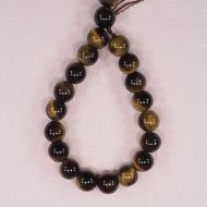 12 mm round tiger eye beads